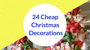 24 cheap christmas decorations you can make yourself home