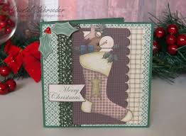 chan u0027s crafty things gingerbread christmas cards