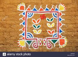 rangoli decoration up of rangoli decoration stock photo royalty free image