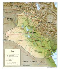 Baghdad Map Iraq Country Profile