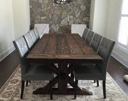 Reclaimed Wood Farmhouse Dining Tables And By WonderlandWoodworks - Handcrafted dining room tables