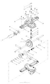 mtd 13ap608g129 2003 parts diagram for transmission