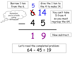 subtraction subtraction with regrouping worksheets with steps