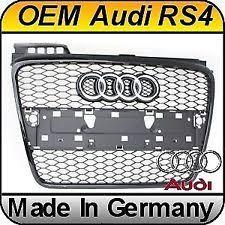 audi rs4 grill audi 8e0853651afvmz genuine oem factory original center grille ebay