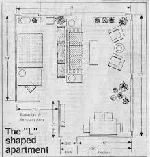 L Shaped Living Room Floor Plan L Shaped Living Room And Dining