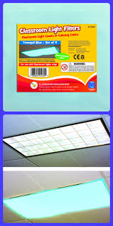 fluorescent light filters for classrooms tranquil blue light filters create a calming learning environment