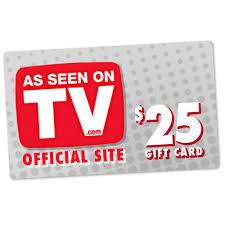 e gift card 25 asseenontv e gift card the official asseenontv shop