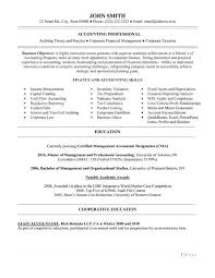 Best Accountant Resume by Cv Writing Tips Interests