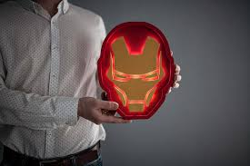 Iron Man Night Light Bukvamd