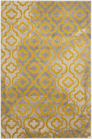 Yellow Rugs Art Inspired Area Rugs Porcello Collection Safavieh