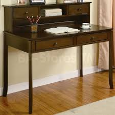desk storage ideas vintage office desk with plywood materials also hutch style