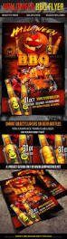 halloween bbq flyer by k project graphicriver