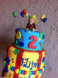 curious george birthday cake curious george birthday cake with balloons and the yellow hat