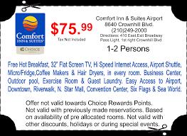 Six Flags Coupon Code Comfort Inn U0026 Suites San Antonio Texas