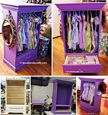 childrens armoires dress up station diy very easy video instructions armoires