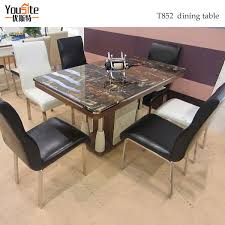 dining table cheap price 6 seaters marble top dining table designs in india view marble top