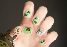http inlovelybones files wordpress com 2013 06 totoro nail art 2
