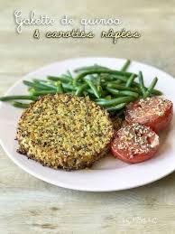 brouillon de cuisine galette de quinoa et carottes râpées mes brouillons de cuisine