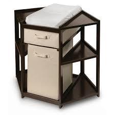 Modern Bathroom Storage by Bathroom Enchanting Brown Corner Hamper For Interesting Storage