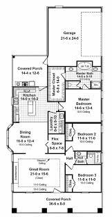 narrow lot craftsman house plans home design style plan beds baths