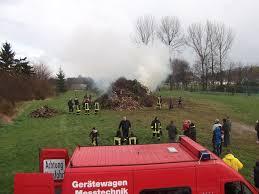 Wetter Bad Lausick Osterfeuer 2012 Feuerwehr Elstertrebnitz