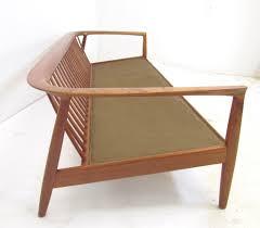 danish teak sofa by folke ohlsson for dux ca 1960s teak 1960s