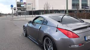 Nissan 350z Silver - nissan 350z new bodykit youtube