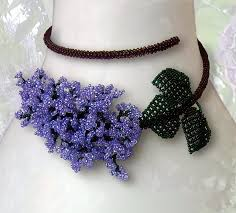 flower bead necklace images How to make beaded flowers bing images crafts pinterest jpg