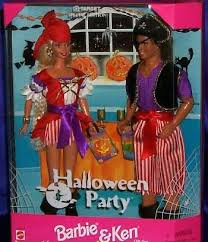 Barbie Ken Halloween Costume Man Doll Presents Halloween Party Barbie U0026 Ken