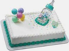 adorable baby shower sheet cake t i like this a lot