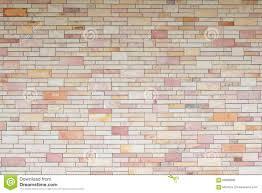 Textured Wall Background Exterior New Brick Wall Textured Wall Background Stock Photo