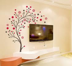 wall putty buy decals design u0027beautiful magic tree with flowers u0027 wall sticker