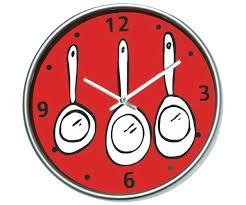pendule originale pour cuisine horloge pour cuisine horloge cuisine originale simple pendule de
