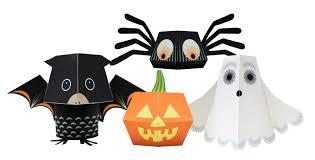 origami halloween team halloween paper toys
