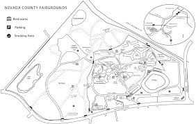 Valley Fair Map Grounds U0026 Buildings Nevada County Fairgrounds Grass Valley Ca