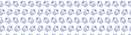 hand drawn seamless cup cake pattern u2013 vector patterns
