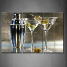 martini painting 20 best collection of martini glass wall art wall art ideas