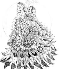 14 images mandala coloring pages wolves celtic wolf coloring