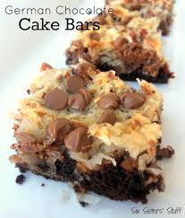 german chocolate cake bars recipe cake bars german chocolate