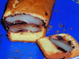entre rire et cuisine cake vanillé au coeur de poires chocolatées entre rire et cuisine