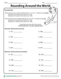 fifth grade math worksheets u0026 printables education com