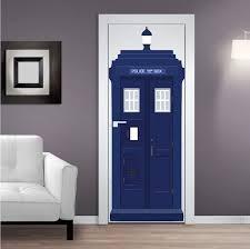 Tardis Interior Door Dr Who Tardis Vinyl Wall Decal Tardis Wall Decal Dr Who Wall
