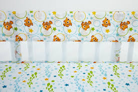 finding nemo a day at the sea crib liner disney baby
