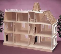 real good toys bostonian wooden doll house