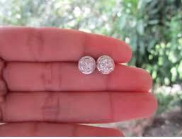 diamond earrings philippines 1 50 carat diamond white gold stud earrings 14k jewelry