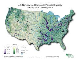 Map Of Major Rivers In The United States by Hydropower Resource Assessment And Characterization Department