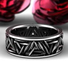 Viking Wedding Rings by Viking Rings Celticeternity