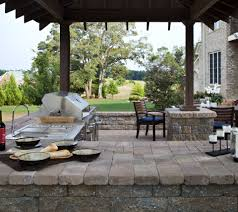 Outside Kitchen Ideas How To Choose Outdoor Kitchen Countertops Ideas Tips Install