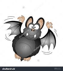 halloween cartoon background halloween cartoon vampire bat isolated on white background stock