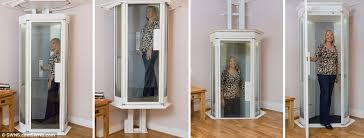 houses with elevators lifestyle lift could replace stairlifts in homes daily mail